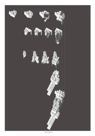 The Purgatory Labyrinth Axonometric