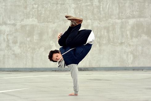städtische Breakdancer