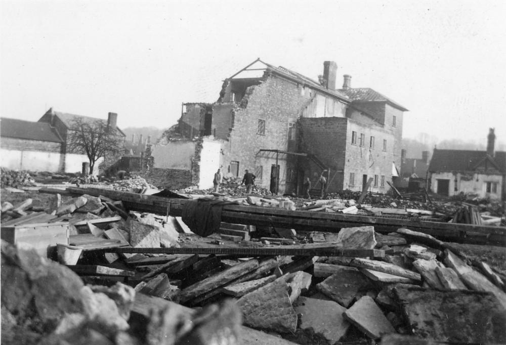 Demolition of Sherborne Union Workhouse (1939), courtesy of Sherborne Museum