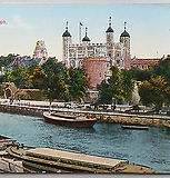 c1900-Hand-Tinted-Colour-Postcard-Tower-