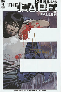 The Cape Fallen #4 (1st printing cover B