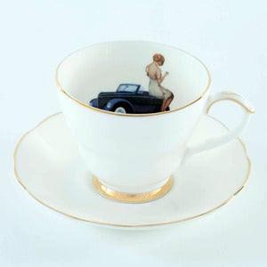 Image of Ali Miller - Always an adventure cup & saucer