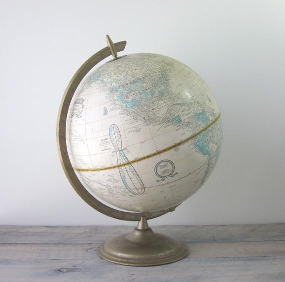 Vintage School House Globe