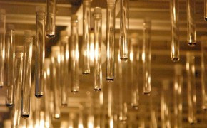 in square lab | Test Tube Chandelier