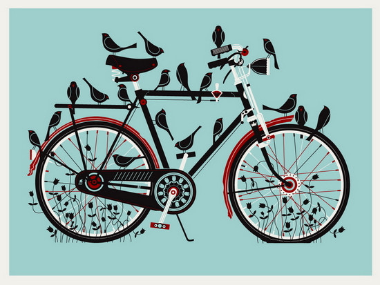 Birdcycle by Methane Studios