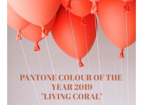 "Pantone Colour of the Year 2019 – ""Living Coral"""