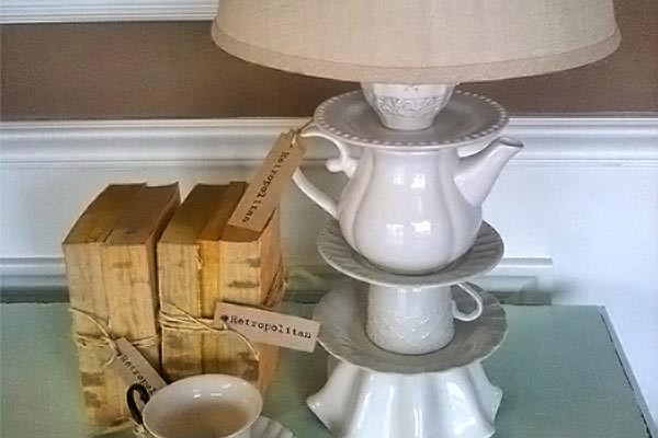 Make an Upcycled Teapot Lamp