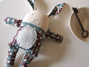 Image of bunny sewing pattern