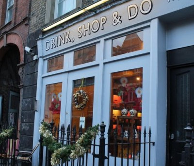 """""""Drink Shop and Do"""" – Multi tasking at it's best"""
