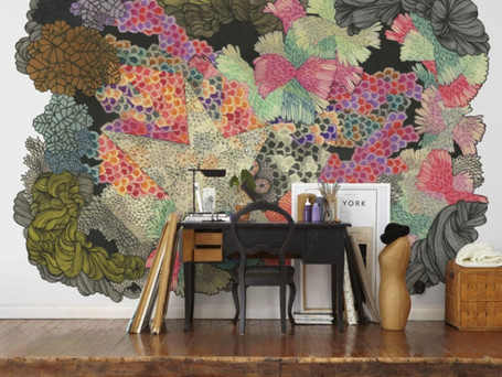 Expressions of Interest – Scandinavian wallpaper with a little difference
