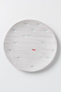 Artful Dinner Plate, Perched Birds