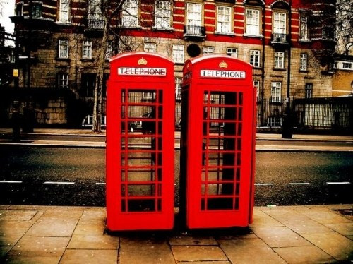 box, city, london, phone booth, red, street