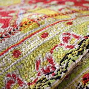 Vintage Kantha Throw - be-still.com