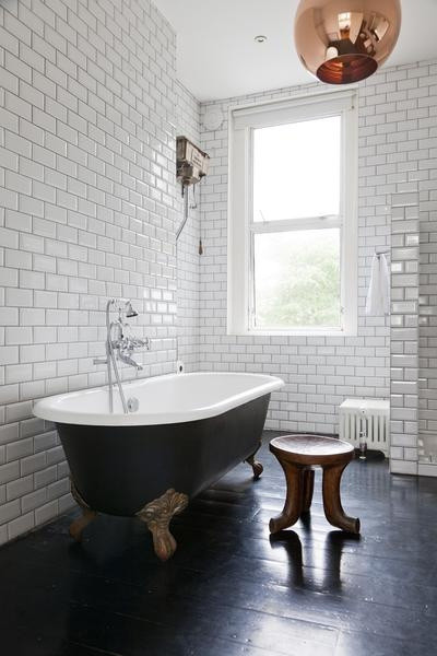 pinterest small touch in a simple bathroom