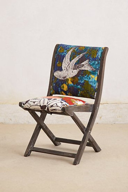 Anthropologie Overdyed Terai Folding Chair1