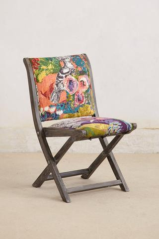 Anthropologie Overdyed Terai Folding Chair2