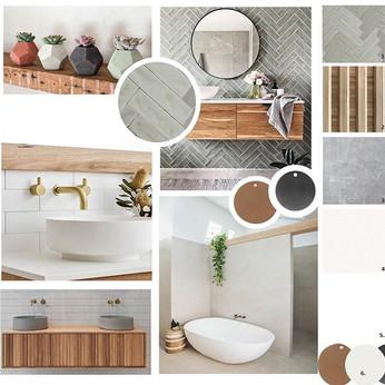 BATHROOM  moodboard and flat lay . . . .