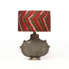 Plum Harlequin Geni Lamp