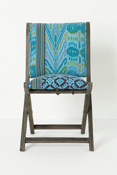 Anthropologie Overdyed Terai Folding Chair4