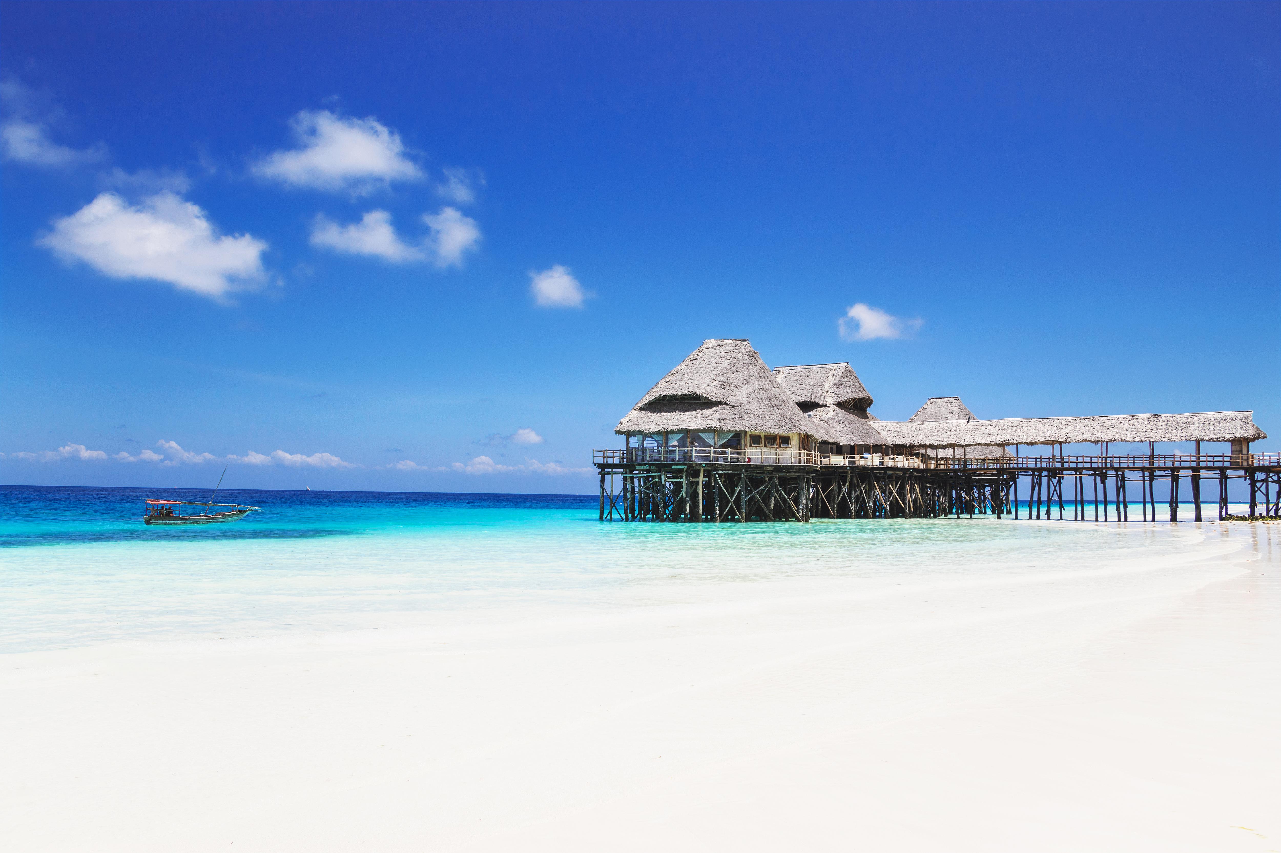 Beautiful beaches of Zanzibar