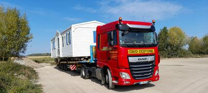 Transport mobil-home