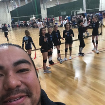 #oyavolleyball first tournament of the s