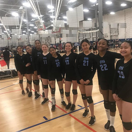 First tournament for our 15's Blue team.