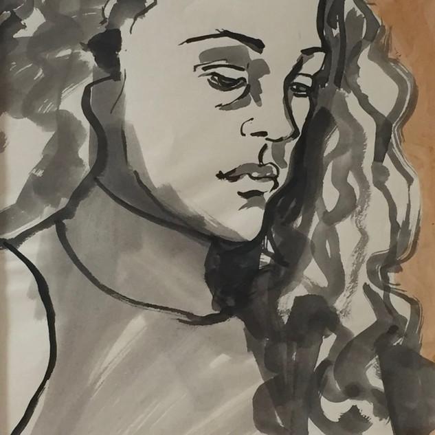 Sketches in Ink 1999, Cassandra Saulter