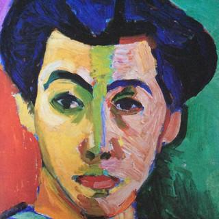 Portrait Detail, Henri Matisse