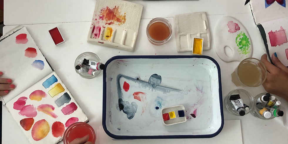 A (re)INTRODUCTION to WATERCOLORS (Semi-Private Session)