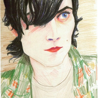 Portrait, Elizabeth Peyton