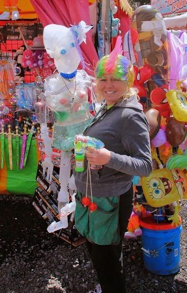 Delphine at the Fair