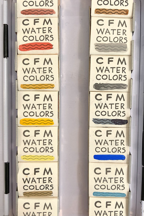 CFM Hudson Valley Watercolor Palette