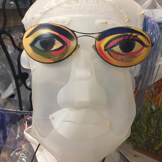 Adam Wearing Painted Eyewear, Cassandra Saulter
