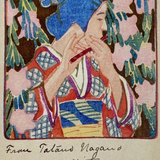 Japanese Postcard Art