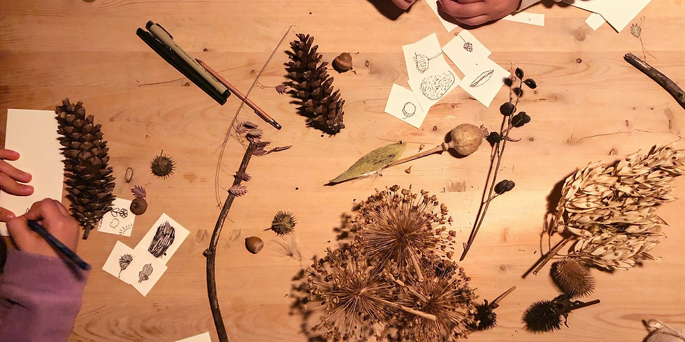 ART IN NATURE SERIES: All Ages Workshop with Lara & Andrea