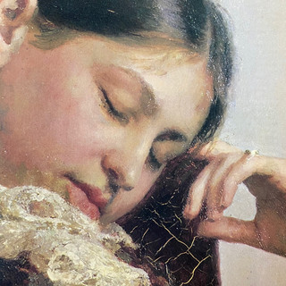 Portrait Detail, Ilya Repin