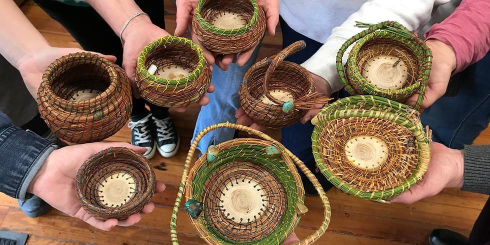 Pine Needle Basketry with Katie Grove