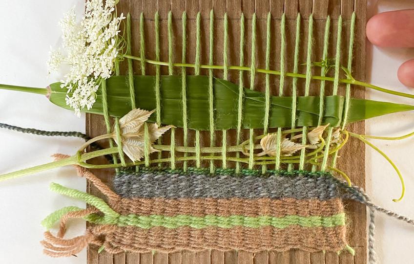 A Yarn-y Leaf-y Flower-y Tapestry