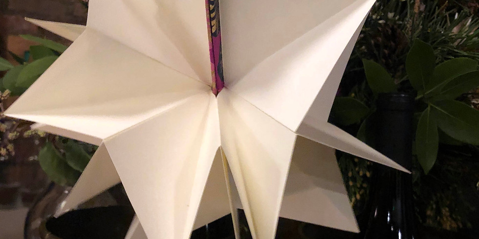Origami Ornament Books with Summer (Ages 6 and up)
