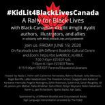 #KitLit4BlackLivesCanada Conference