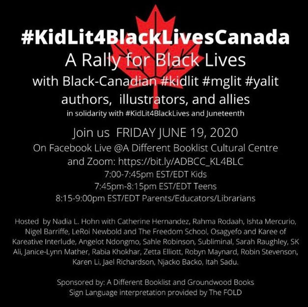 #KitLit4BlackLivesCanada Conference