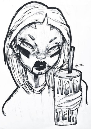 Acid Milk Tea