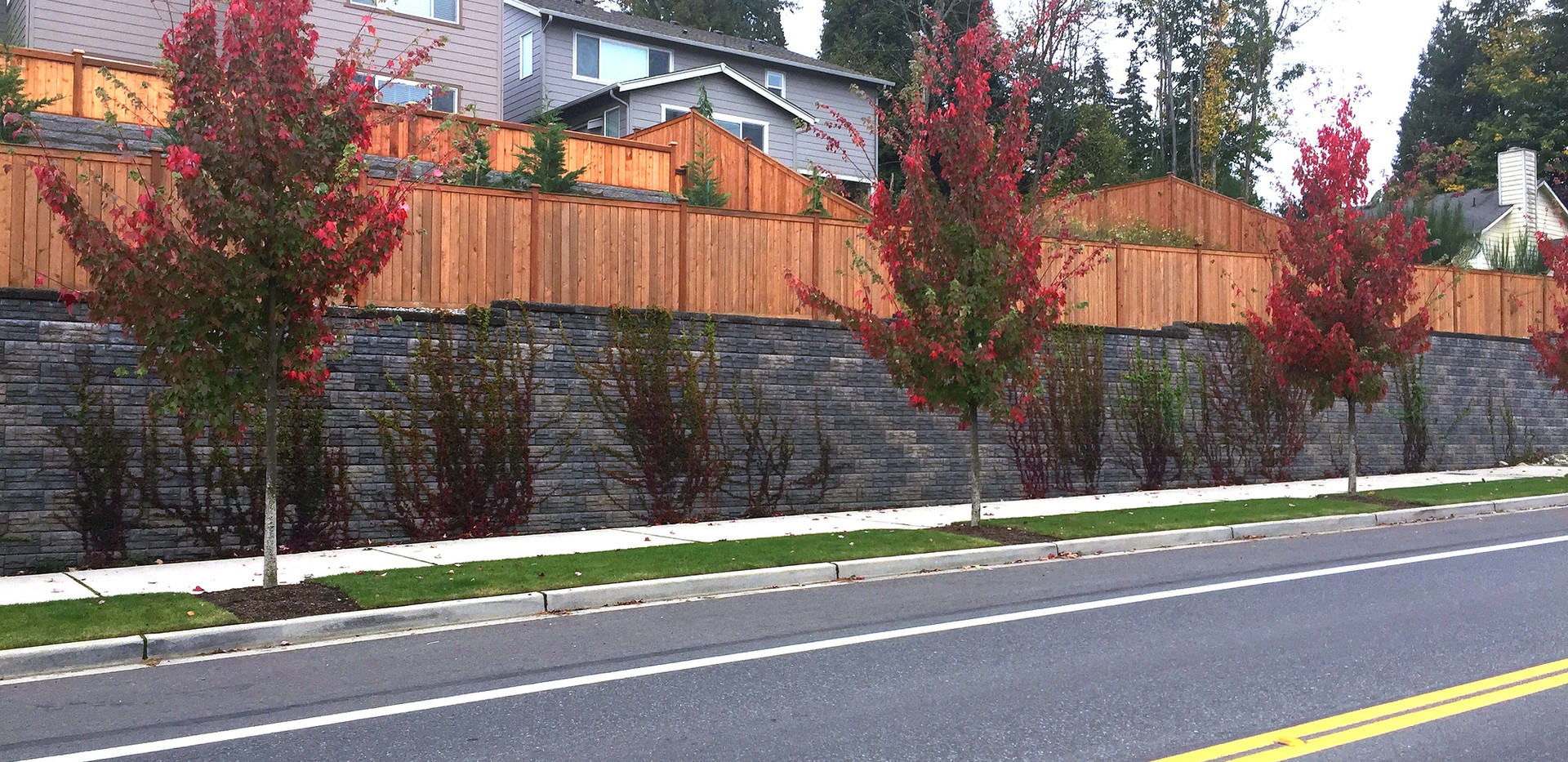 Quadrant Homes, Woodinville, WA Distant Street View