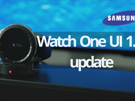 ONE UI 1.5 Update for Samsung Wearables – Galaxy Watch – still living with no bread and milk