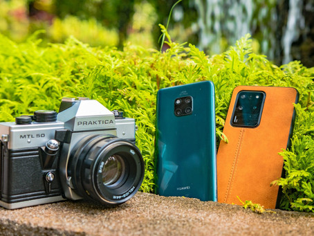 Battle of Generations – Samsung S20 Ultra, Huawei Mate 20 Pro and Film Camera