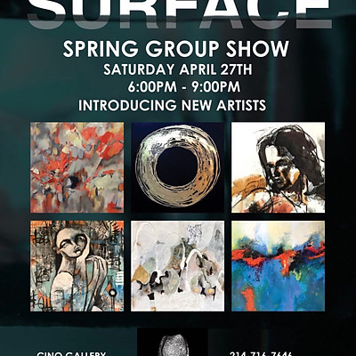 """""""Surface"""", Cinq Gallery Group Show"""