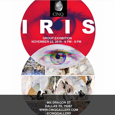 Iris, CINQ Gallery Group Show