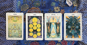 Using pattern to interpret Tarot