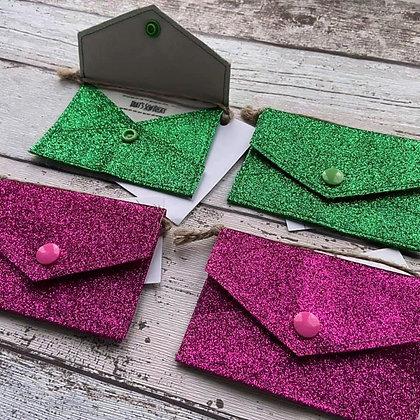 Glitter Card Purse TSB